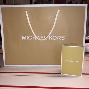 Accessories - MICHAEL KORS BAG -MK RECEIPT CARD MK TISSUE PAPER